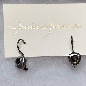 Janice Girardi Design Jewelry - Smoky Quartz In Sterling Earrings